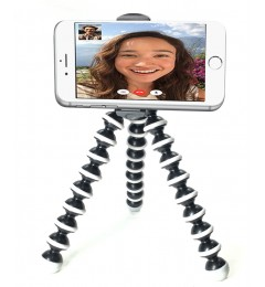iShot GP5500S iPhone Universal Smartphone Tripod Mount Adapter Holder +  TigerPod Tripod + 360° Swivel Ball Head